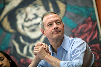 Martin O'Malley 2016 presidential campaign - O'Malley speaking at an immigration roundtable in Phoenix, Arizona