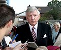 Martin Peters Signing Autographs at the Boleyn Ground 15Aug2015.jpg