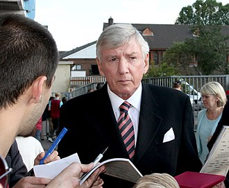 Martin Peters - Martin Peters signing autographs at the Boleyn Ground, 15 August 2015