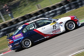 Martyn Bell - Bell driving the Geoff Steel Racing-run BMW at the Brands Hatch round of the 2006 British Touring Car Championship.