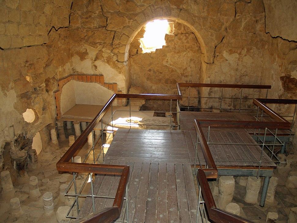 Masada large bathhouse by David Shankbone