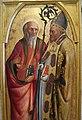 Masolino (con possibile inizio di masaccio), santi dalla pala colonna, 1427-28 ca. 02.JPG