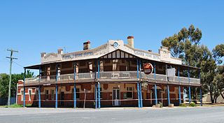Matong Town in New South Wales, Australia