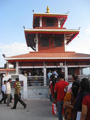Maula Kalika - Maula Kalika Temple in Gaindakot town of Lumbini zone in Nepal