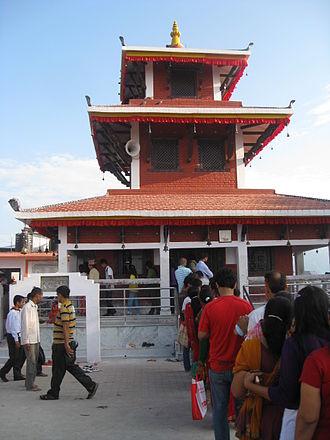 Maula Kalika - Maula Kalika Temple in Gaindakot town of Lumbini zone in Nepal