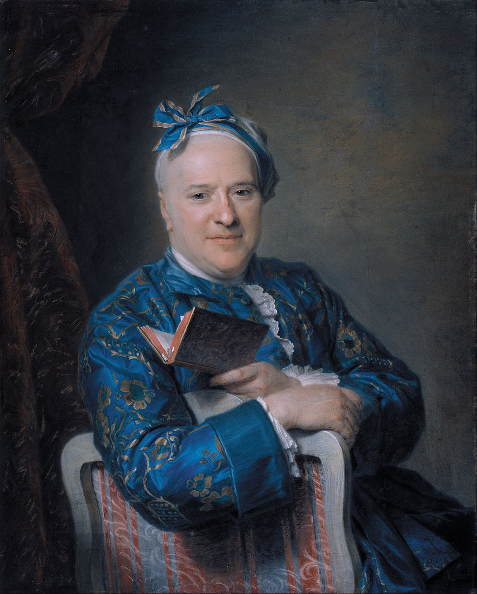Maurice-Quentin de La Tour - Pierre-Louis Laideguive - Google Art Project