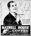Maxwell house coffee newspaper ad 1921.jpg