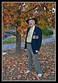 Me dressed for ANZAC Day 2001-2 (5671579801).jpg
