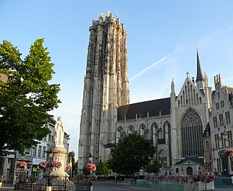 Roman Catholic Archdiocese of Mechelen-Brussels - St. Rumbold's Cathedral, Mechelen