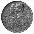 Medaglia Cinquantenario Risorgimento italiano - diritto, 1912 - Archivio Meraviglioso ICM BC1912n17f1.jpg