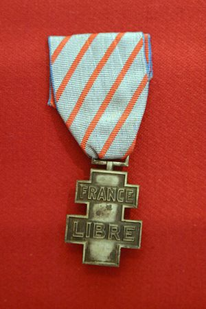 Free France - Commemorative medal for voluntary service in Free France