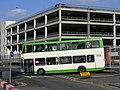 Media Mall Bus station, Olympic games vehicle Stephensons of Essex 502, EU09 AUK (7754114100).jpg