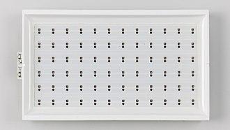 LED-backlit LCD - Direct LED full array of a smaller LCD