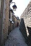 Footpath next to Église Saint-Pierre, Mont-Saint-Michel, France