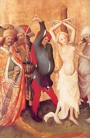 Master Francke - Image: Meister Francke Geißelung der hl. Barbara