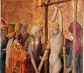 Meister francke, altare di santa barbara, amburgo 1420 circa, dalla chiesa di kalanti, 07 martirio col fuoco 4.JPG