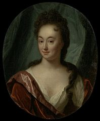 Miss van Gool, lady companion of Clara van Citters