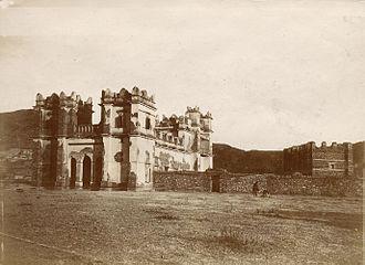 Mekelle - Atse Yohannes IV's grand castle.