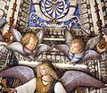 Melozzo da forlì, angeli coi simboli della passione e profeti, 1477 ca., cherubini 06.jpg