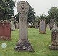 Melrose Abbey 2000-6-Caltic Cross.jpg