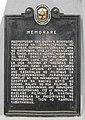 Memorare Bonifacio Shrine NHCP Historical Marker.jpg