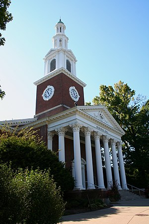 Memorial Hall (University of Kentucky) - Memorial Hall clock tower