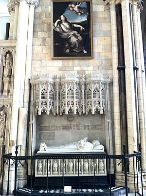 William Thomson (bishop) - Memorial to Archbishop William Thomson (d.1890) in the south transept at York Minster.