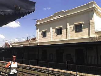 Merlo, Buenos Aires - Merlo Railway Station.