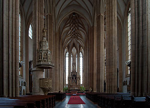 Church of St. James (Brno) - Interior of the church