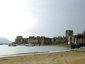 Methoni, Messenia - Image: Methoni Castle