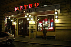 Filmarchiv Austria - Metro-Kino, Vienna, run by the Filmarchiv Austria for the showing of significant and historical Austrian films