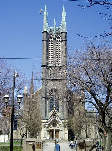 Metropolitan Methodist Church, Toronto. Metropolitan United.JPG