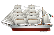 Mexican tallship Cuauhtemoc