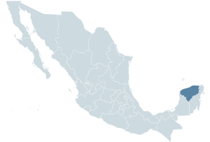 Mexico map, MX-YUC.svg