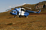 Mi-8 landed in Altai mountains (6073001275).jpg