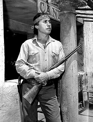Michael Ansara - Michael Ansara in Law of the Plainsman (1959)