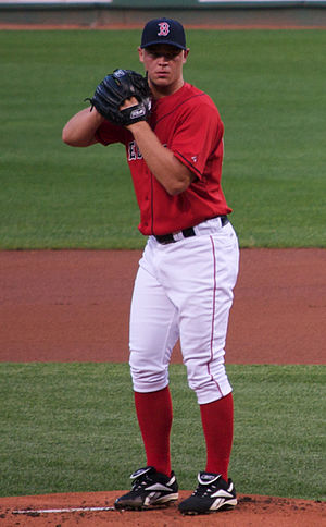 Michael Bowden (baseball) - Bowden pitching for the Boston Red Sox in 2008