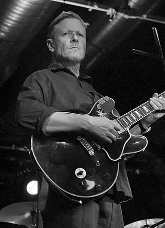 Michael Gira - Gira performing in Glasgow, 2010