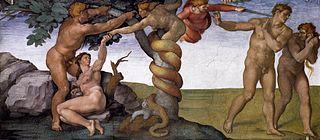 Chute de l'Homme, péché originel et expulsion du paradis