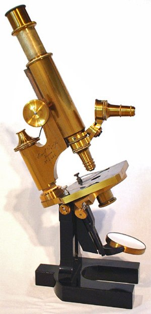 Ernst Abbe - Microscope by Carl Zeiss (1879) with optics by Abbe