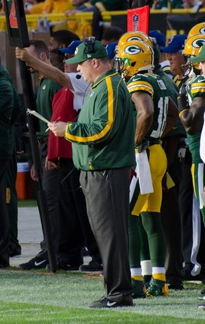 Mike McCarthy (American football) - McCarthy in 2012 with the Packers.