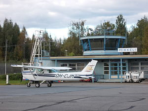 Mikkeli Airport - Image: Mikkeli Airport (MIK), Finland