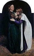 Millais - Die Rückkehr der Taube zur Arche Noah