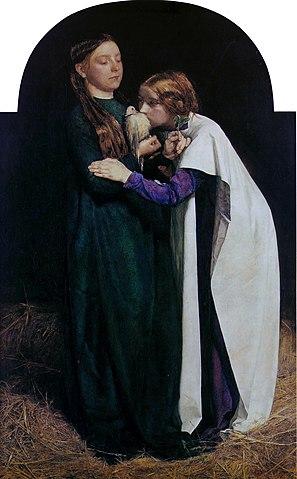 Millais - Die Rückkehr der Taube zur Arche Noah 1851