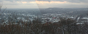Panorama von Millburn, vom South Mountain Reservation