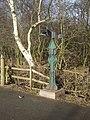 Millennium milepost in Sandwell Valley Country Park - geograph.org.uk - 1122984.jpg