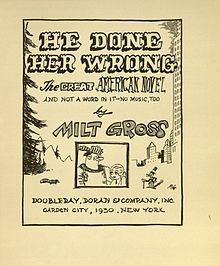 Milt Gross (1930) He Done Her Wrong (title page).jpg
