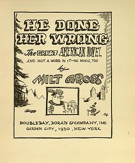 <i>He Done Her Wrong</i> graphic novel