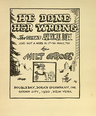 He Done Her Wrong - Title page of He Done Her Wrong