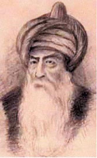 Mimar Sinan - A pencil portrait of Mimar Sinan